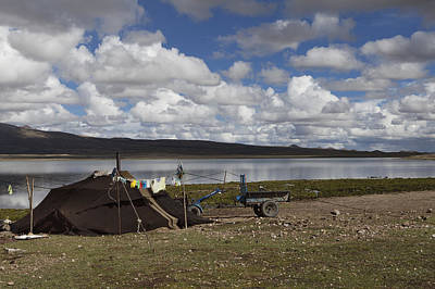 Yurts Photograph - Untitled by Phil Borges