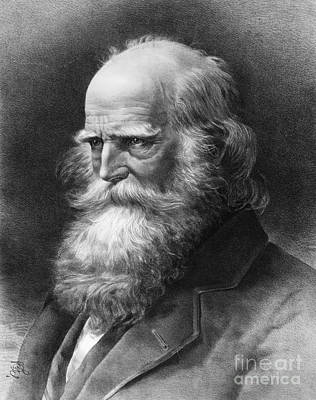 Cullen Photograph - William Cullen Bryant by Granger