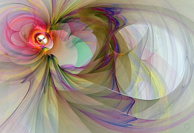 Generative Digital Art - 903 by Lar Matre