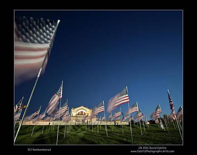 Photograph - 911 Art Hill Memorial by David Coblitz