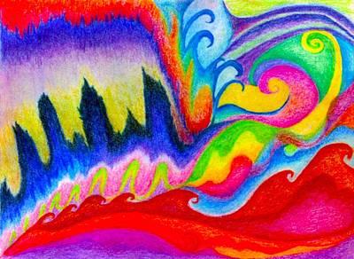 911 Nyc Art Print by Linda Pope