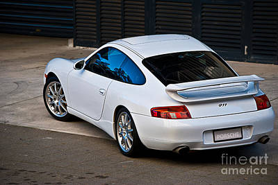 Photograph - 911 Porsche 996 4 by Stuart Row