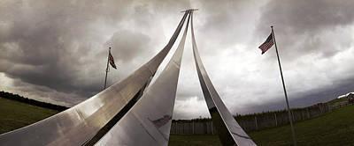 96th Bomb Group Monument Snetterton Heath Original by Jan W Faul