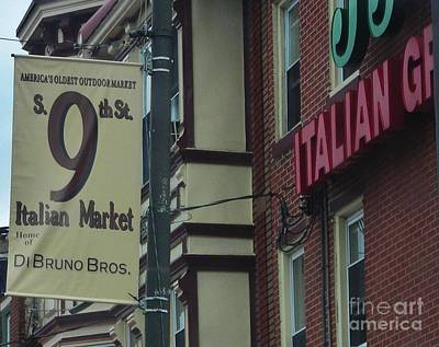 Philadelphia Italian Market Photograph - 9th Street Italian Market by Snapshot Studio