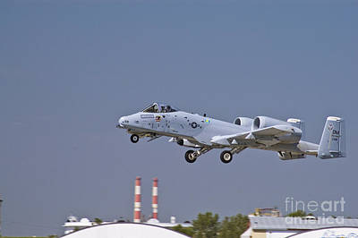 Photograph - A-10 Gear Up by Tim Mulina