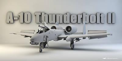 A-10 Thunderbolt II Art Print by Dale Jackson