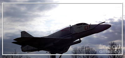 Birds Photograph - A-4e Skyhawk Plane by Rose Santuci-Sofranko