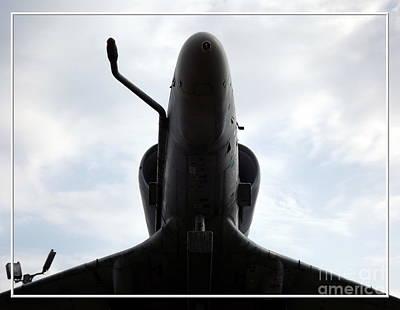 Birds Photograph - A-4e Skyhawk Plane Underside by Rose Santuci-Sofranko