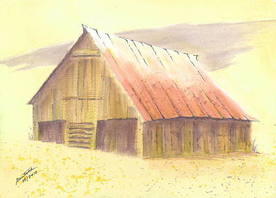 Painting - A Barn For The Ladies by Joel Deutsch