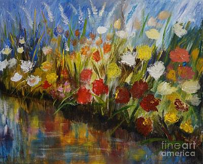 Painting - A Beautiful Reflection by Leslie Allen