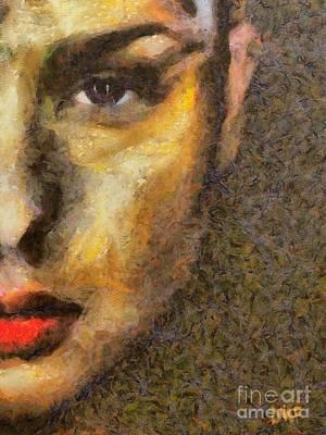 A Beauty From Arles Art Print