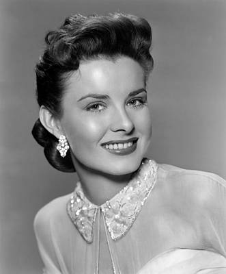 1950s Movies Photograph - A Blueprint For Murder, Jean Peters by Everett