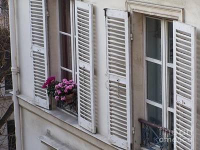 A Bouquet In My Window Art Print by Jennifer Sabir