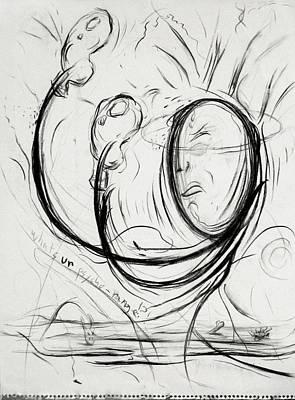 Drawing - A Boxing by Michael Morgan