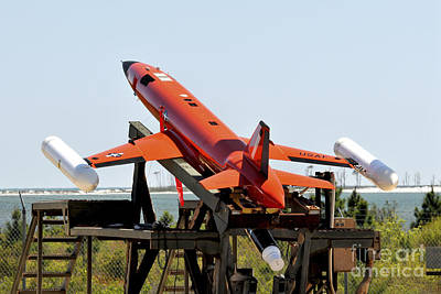 A Bqm-167a Subscale Aerial Target Print by Stocktrek Images