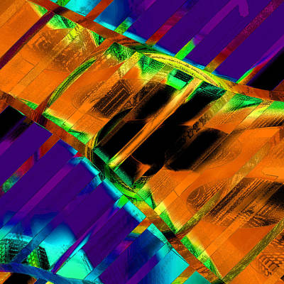 A Bridge Over Troubled Waters Art Print