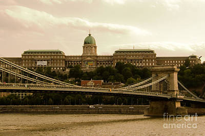 A Bridge To Palace Art Print by Syed Aqueel