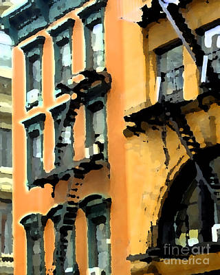 Photograph - A Building 2 by Nancy Greenland