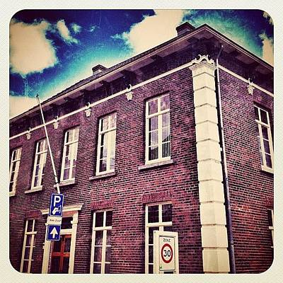 Dutch Photograph - A #building In #venray by Wilbert Claessens
