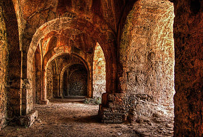 Photograph - A Castle Full Of Arches by Stamatis Gr