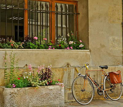 Photograph - A Charming Scene In France  by Kirsten Giving