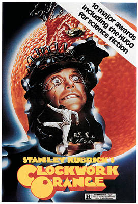 Films By Stanley Kubrick Photograph - A Clockwork Orange, Malcolm Mcdowell by Everett