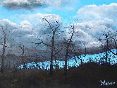 Painting - A Cloudy Day by Dan Whittemore