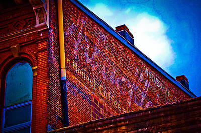 Ou. Ohio University Photograph - A Colorful Past by Shirley Tinkham