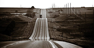 Nebraska Photograph - A Country Mile 2 by Marilyn Hunt