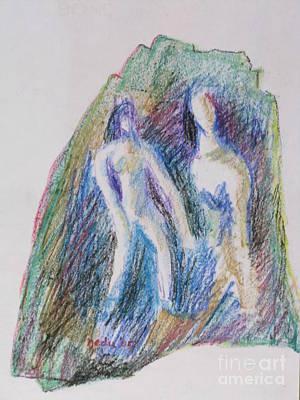 A Couple Art Print by Nedunseralathan R