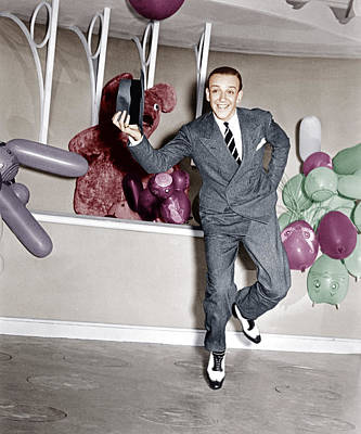 Incol Photograph - A Damsel In Distress, Fred Astaire, 1937 by Everett