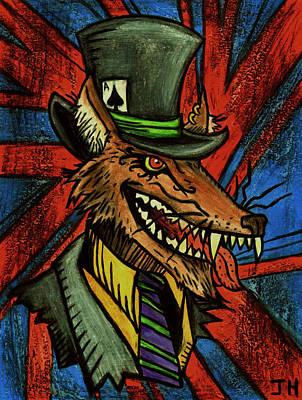 A Dapper Rogue Art Print by John  G L Horvath