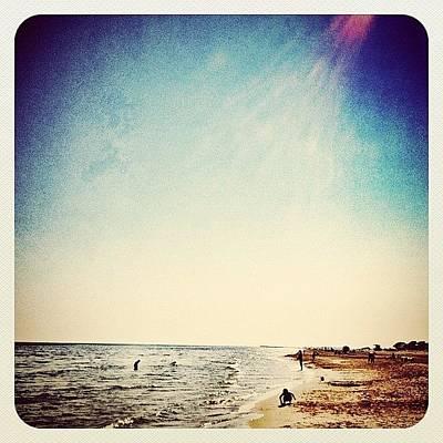 A Day At The #beach 2 Months Ago Art Print by Wilbert Claessens