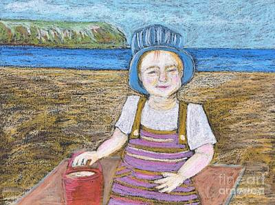 Pastel - A Day At The Beach by Reb Frost