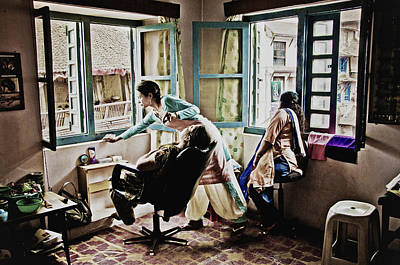 Photograph - A Day In The Life In Kathmandu by Valerie Rosen