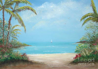 Painting - A Day In The Tropics by Leea Baltes