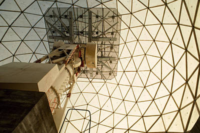 High Technology Devices Photograph - A Decommissioned Nato Radar Dome In Use by Gordon Wiltsie