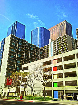 Photograph - A Different Perspective On Downtown Los Angeles I by Clayton Bruster