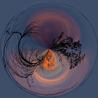 A Different Sunset Art Print by Sandi Blood