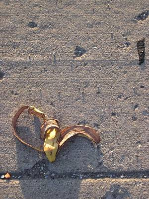 A Discarded Banana Is A Joy Forever Art Print by Guy Ricketts