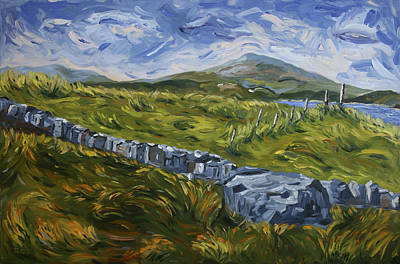 Painting - A Donegal Day by John Farley