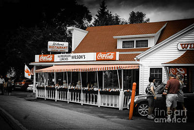 Photograph - A Door County Institution Since 1906 by Mark David Zahn