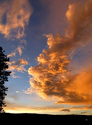Photograph - A Dramatic Summer Evening 1 by Will Borden