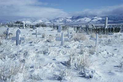 A Dramatic Winter Scene Print by David Boyer