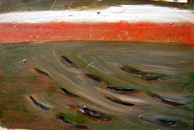 Painting - A Dream Of Boats by Anand Swaroop Manchiraju