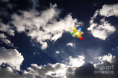 Art Print featuring the digital art A Flight From Drama by Rosa Cobos