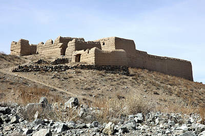 Logar Photograph - A Fortified Compound In The Village by Stocktrek Images