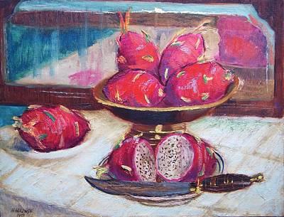 A Fruity Fruit Art Print