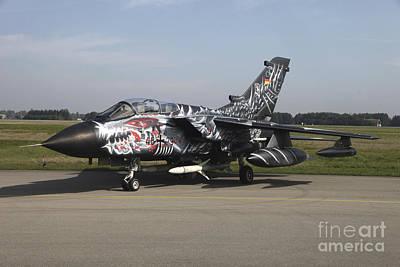 A German Air Force Tornado Ecr Art Print by Timm Ziegenthaler