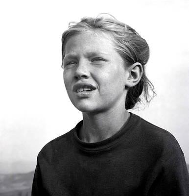 Photograph - A Girl by Emanuel Tanjala